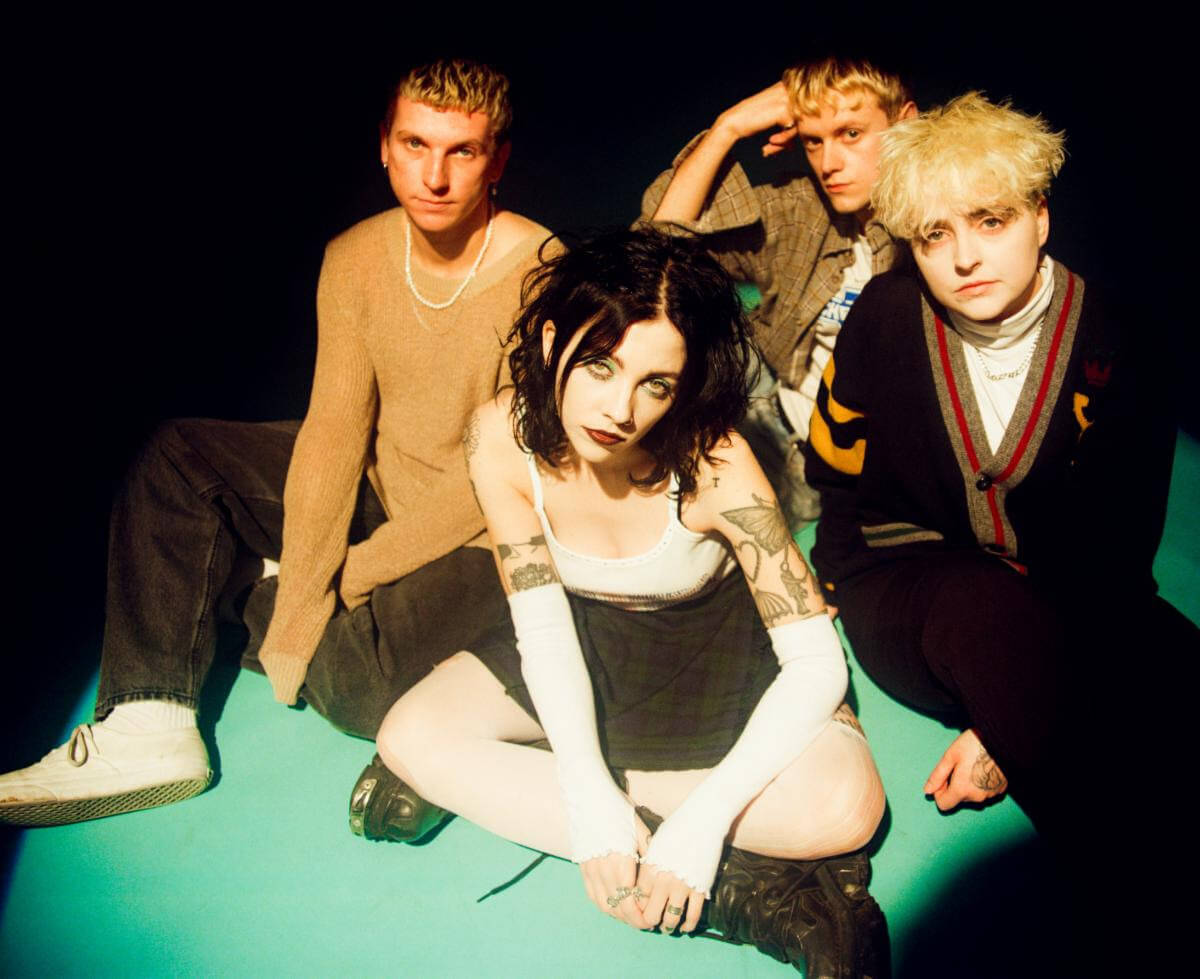 """Pale Waves have shared a new video """"Easy,"""" the third single from their full-length Who Am I?, available February 12, 2021, via Dirty Hit"""