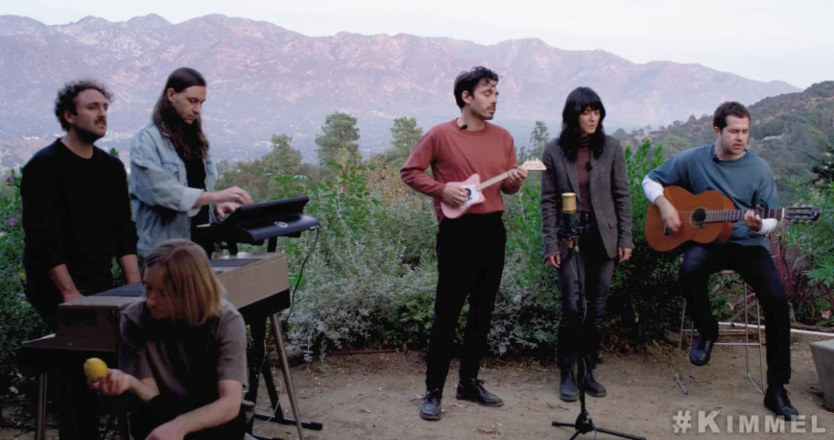 Watch, as Sharon Van Etten joins Local Natives for a performance of the band's single Lemmon