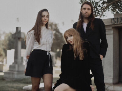 "Tashaki Miyaki have just released their second song & video for their title-track ""Castaway"" off their new album, out April 23"