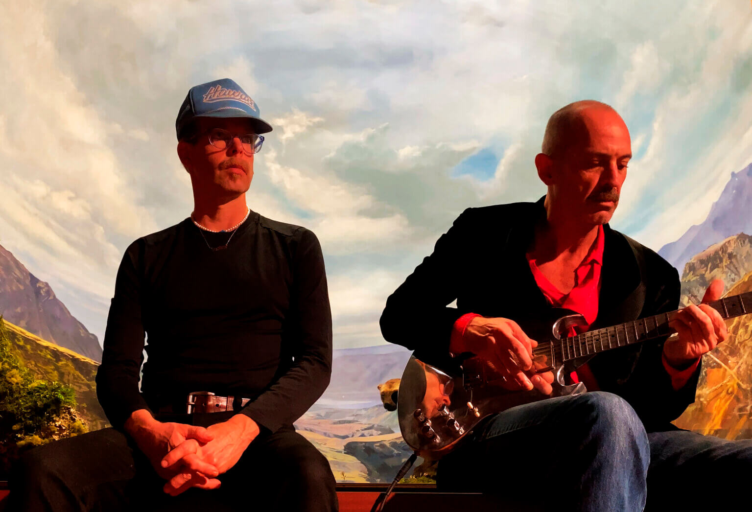 """Matt Sweeney and Bonnie 'Prince' Billy share the new single """"Hall of Death."""" The track is off their forthcoming release Superwolves"""