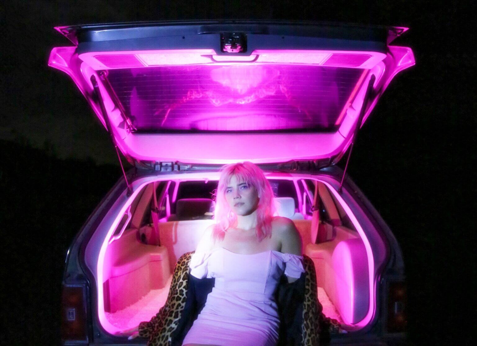 """""""Pink Elephants"""" by Claire George is Northern Transmissions Song of the Day. The track is off her LP The Land Beyond the Light"""