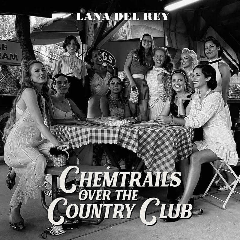 Chemtrails Over the Country Club by Lana Del Rey album review by Jahmeel Russell for Northern Transmissions