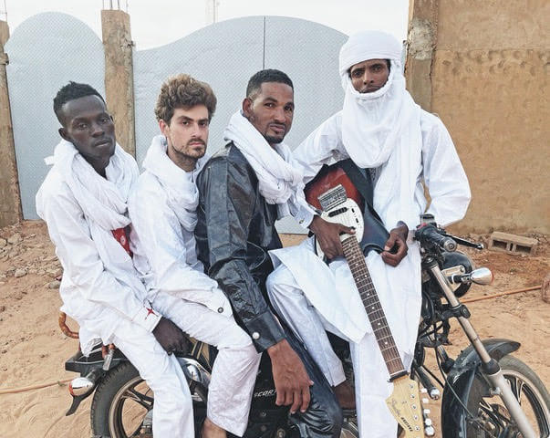 """Mdou Moctar will release their nw LP Afrique Victime on May 21, via Matador Records. Recently, the group shared album track """"Tala Tannam"""""""
