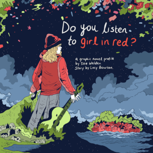 WePresent, the editorial platform of WeTransfer, collaborates with Norwegian singer-songwriter girl in red (aka Marie Ulven) on Graphic novel