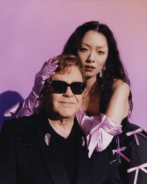 "Rina Sawayama collaborates with Elton John on""Chosen Family"""