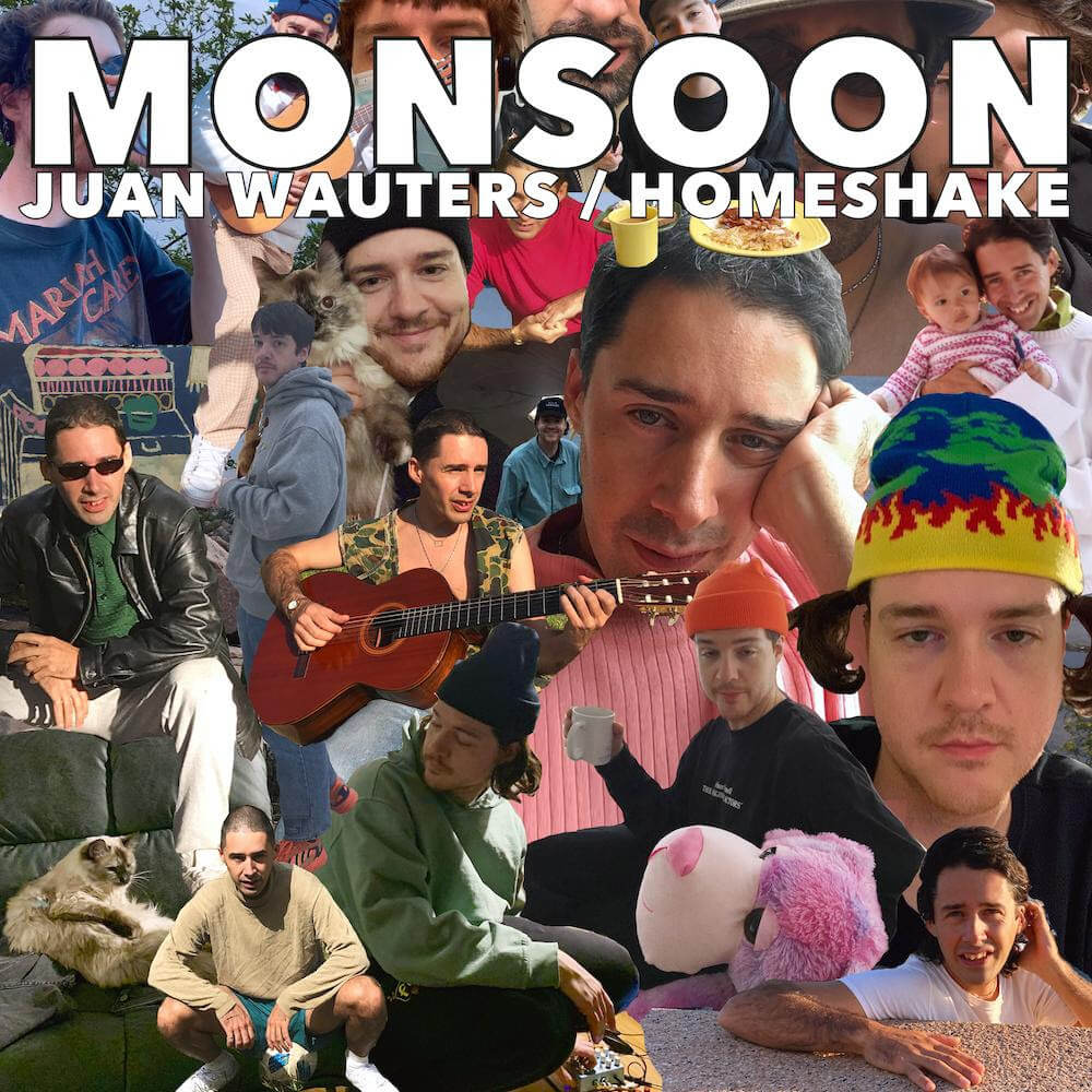 """Juan Wauters has shared """"Monsoon"""", the track featuring Homeshake, is partnered with a whimsical, heist-inspired video. """"Monsoon"""