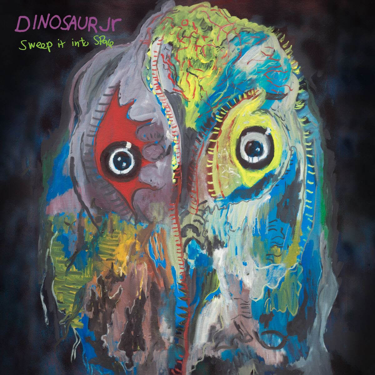 """Dinosaur Jr. Release Video For """"Take It Back."""" The track is off the trio's forthcoming release Sweep It Into Space, available April 23"""