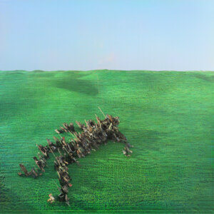 Bright Green Field by Squid album album review by Adam Williams for Northern Transmissions