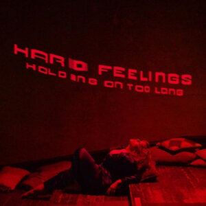 """Holding On Too Long"" by Hard Feelings is Northern Transmissions Video Of The Day. The duo includes Amy Douglas and Joe Goddard of Hot Chip"