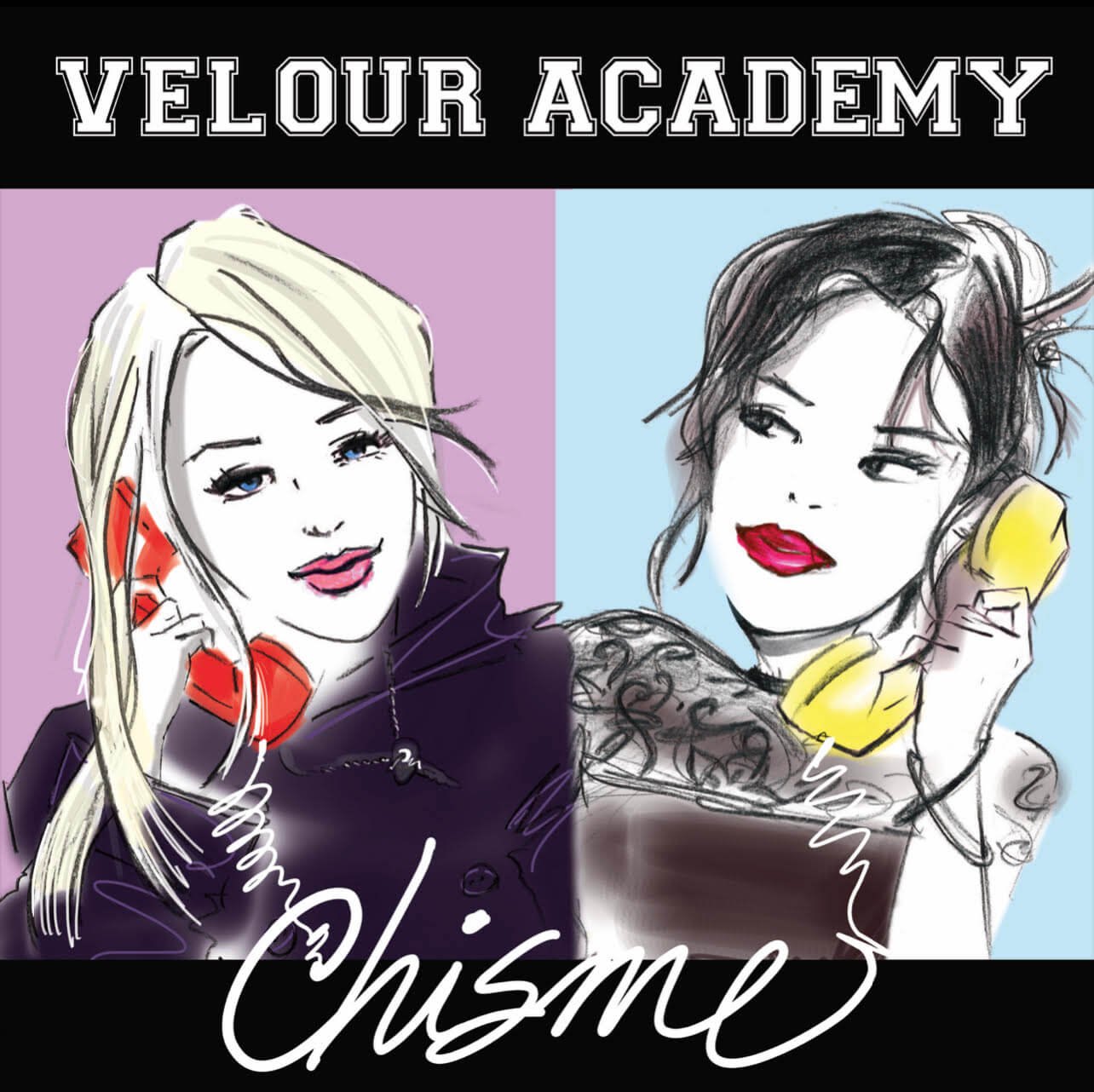 """Velour Academy Debut """"All Alone."""" The track is off the Los Angeles band's forthcoming release Chisme, available June 4, 2021"""