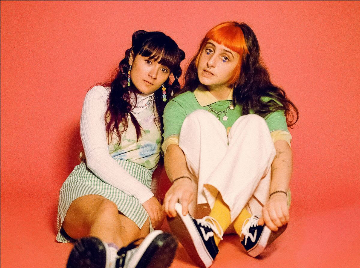 """""""Ice Cream"""" by Teenage Joans is Northern Transmissions Song of the Day. The track is off the Australian group's release Taste Of Me"""