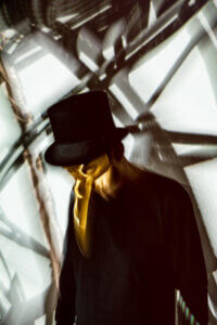 """Claptone has shared new track """"My Night"""" featuring electronic indie duo APRE. Accompanying the track, Claptone has also shared an '80s cult"""