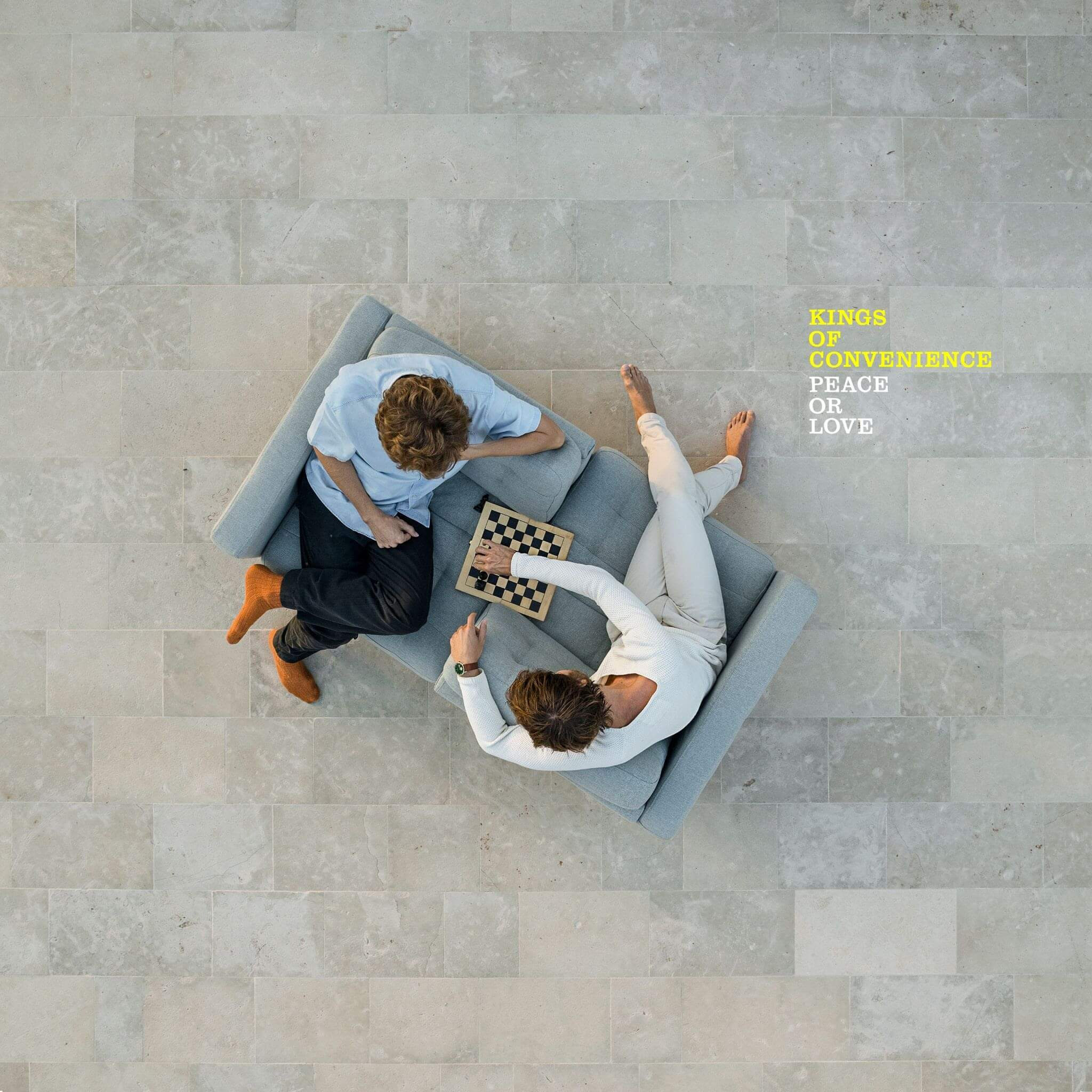 Kings Of Convenience Peace Or Love Album review by Adam Fink. The Swedish band's full-length is out today via IMPERIAL