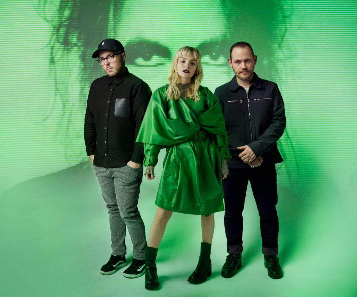 """Chvrches have announced their new LP Screen Violence comes out on August 27, via Glassnote. Today they have shared the song """"How To Not Drown"""""""
