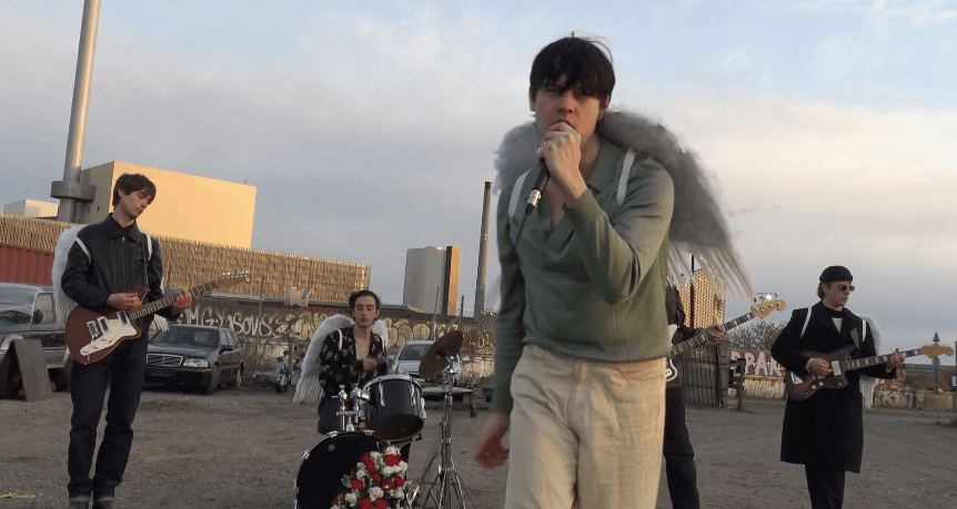 """Iceage have released a new video for """"High & Hurt."""" The track is off the Danish band's 2021 release Seek Shelter, now out via Mexican Summer"""