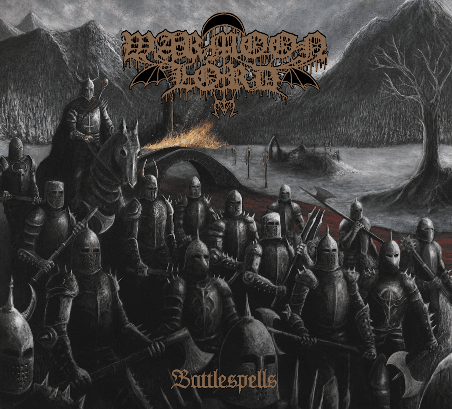 Battlespells by Warmoon Lord album review by Jahmeel Russell. The Finnish band's forthcoming release comes out on June 26 on Warewolf Records