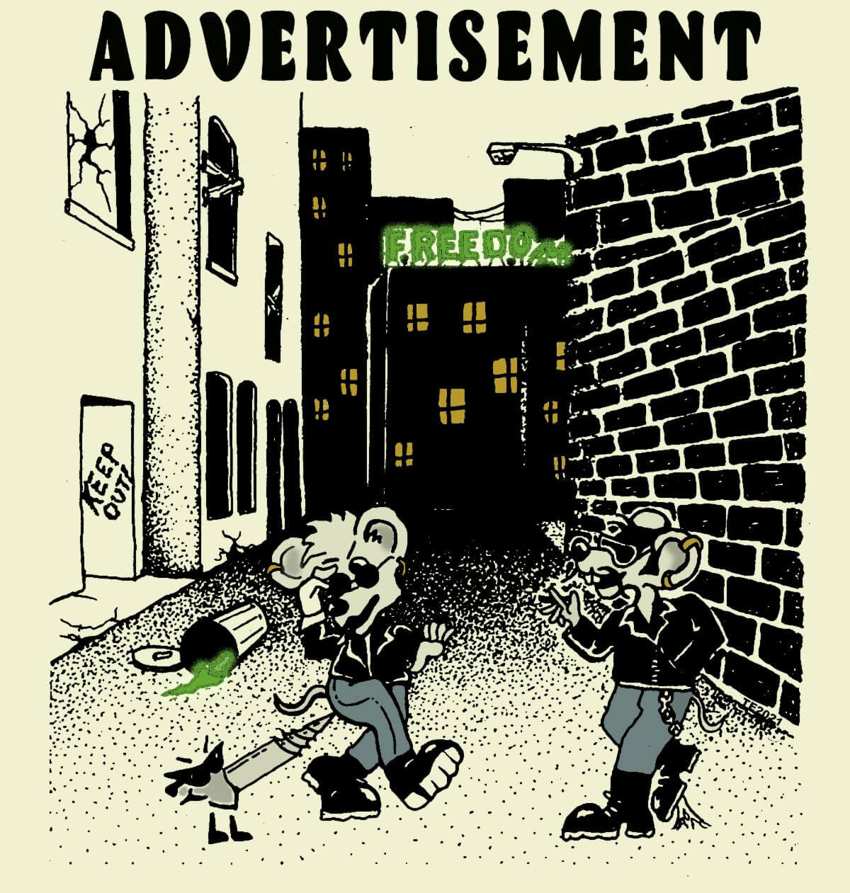 Freedom by Advertisement album review by Katie Tymochenko. The Gabe Wax produced is out today, and available to stream