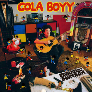 Prosthetic Boombox by Cola Boyy album review by Adam Fink. The full-length is out today, via MGMT Records/Record Makers