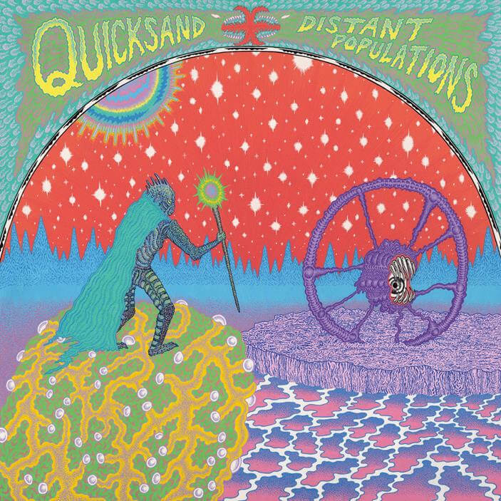 Legendary post hardcore band Quicksand, have announced their new LP Distant Populations will drop on August 13 via Epitaph Records