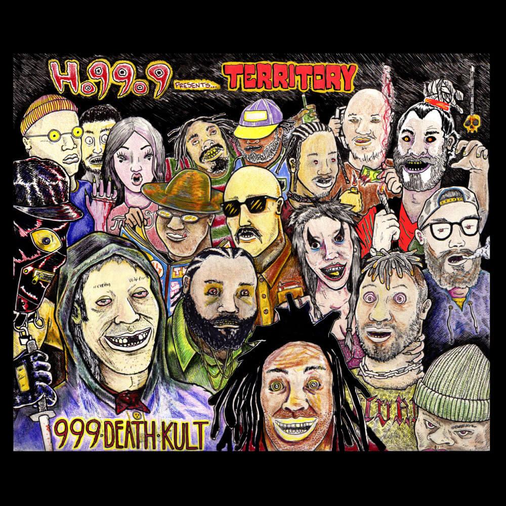 Ho99o9 blast off new crew mixtape 'Ho99o9 Presents Territory : Turf Talk Vol. 1' - Out now via 999 DeathKult