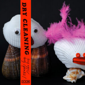 """Dry Cleaning has shared a one-off double A-side single, """"Bug Eggs"""" b/w """"Tony Speaks!"""" The album was recorded at Rockfield Studios"""