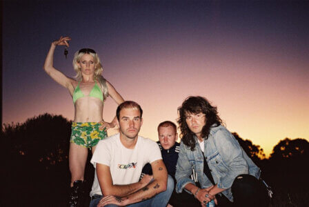 """Amyl and the Sniffers release new single """"Security,"""" the latest offering from their LP Comfort To Me, out September 10 on ATO Records"""