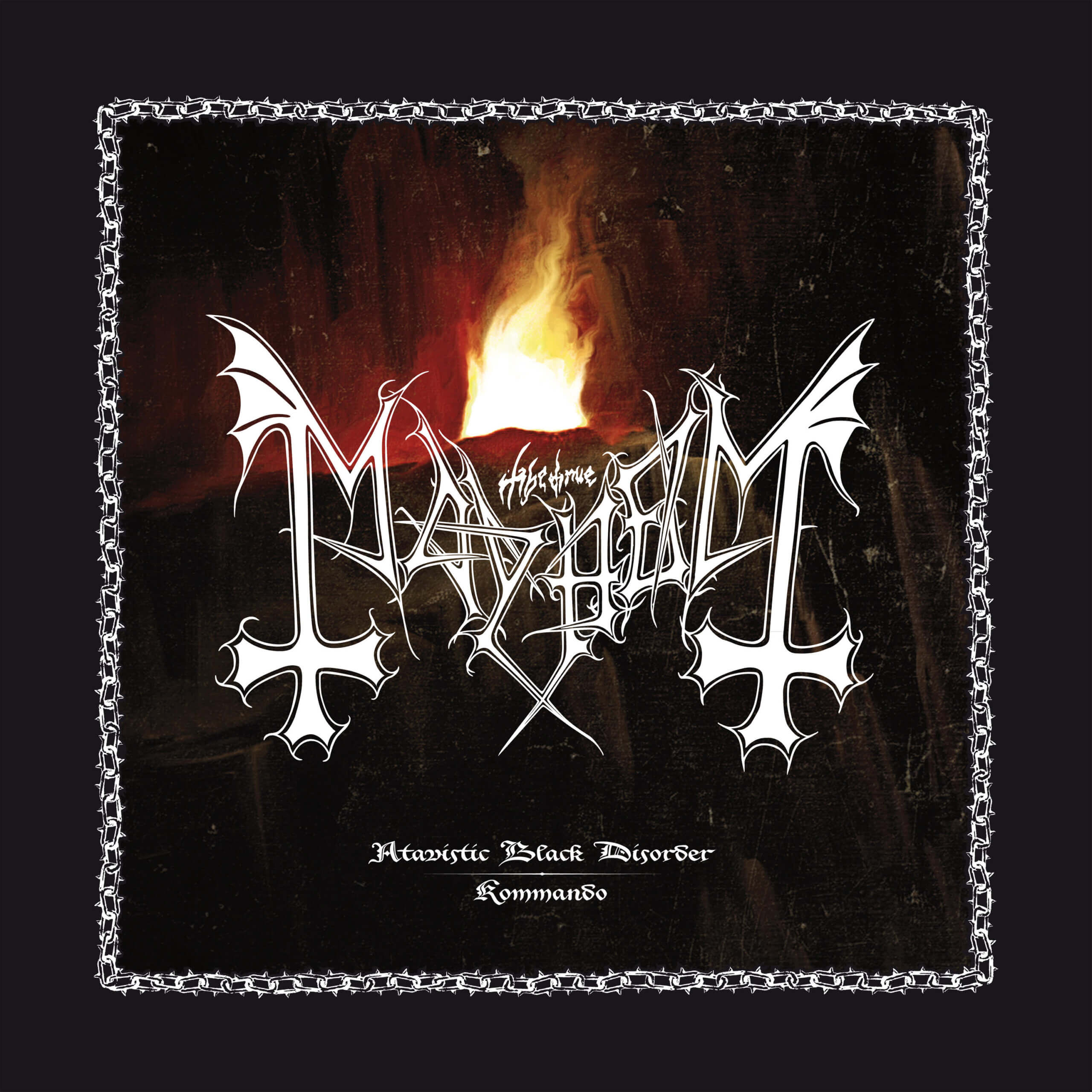 Atavistic Black Disorder/Kommando by Mayhem album review by Jahmeel Russell for Northern Transmissions