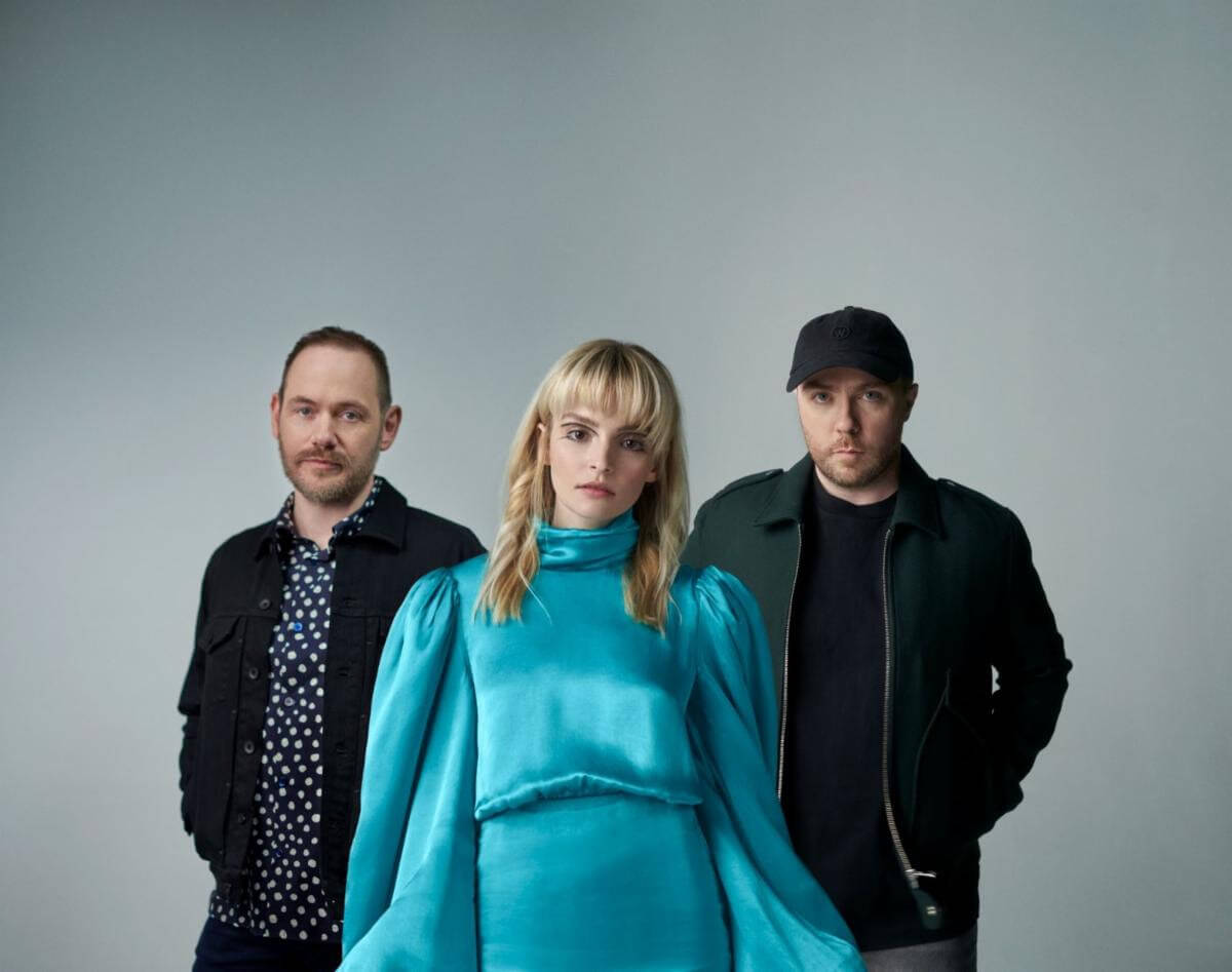 """Scottish trio Chvrches have shared their new single """"Good Girls."""" The track is off the band's forthcoming release Screen Violence, out 8/27"""