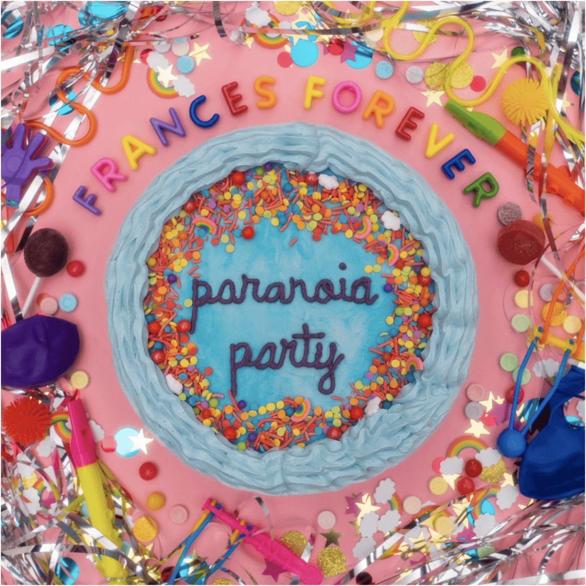 Frances Forever, has dropped paranoia party. The EP, is the debut release for the project of Frances Garrett, and now available via Mom+Pop