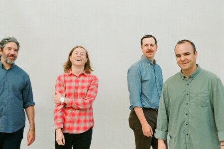 """4AD recording artists Future Islands have shared stand-alone single """"Peach,"""" the track is available to stream today"""