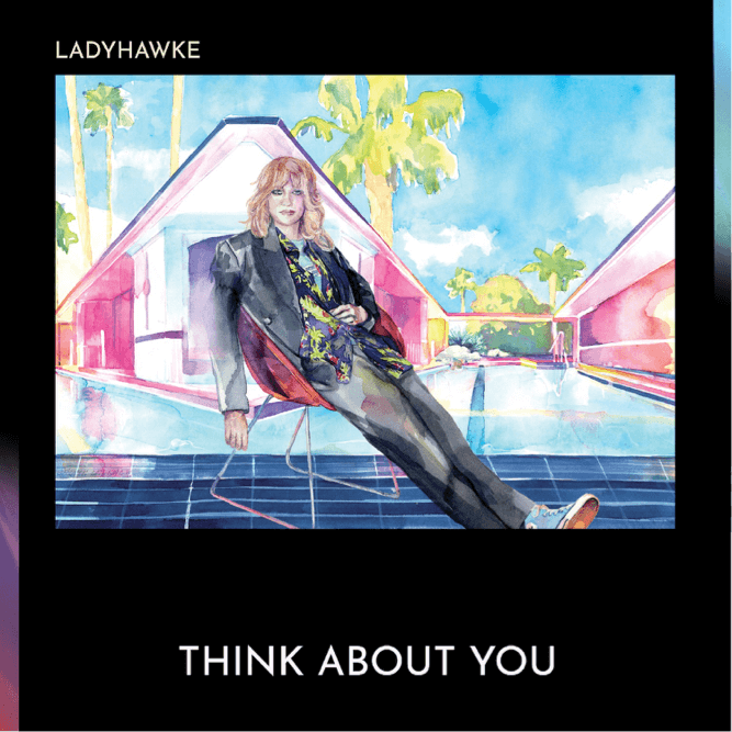 """Ladyhawke has released her brand-new single """"Think About You"""", the track is off her new album Time Flies, """"an album, that fuses intimate"""