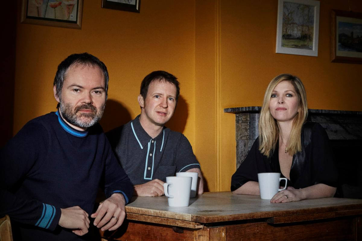 """""""Penelop"""" by Saint Etienne is Northern Transmissions Song of the Day. The track is off the UK band's LP 'I've Been Trying To Tell You'"""