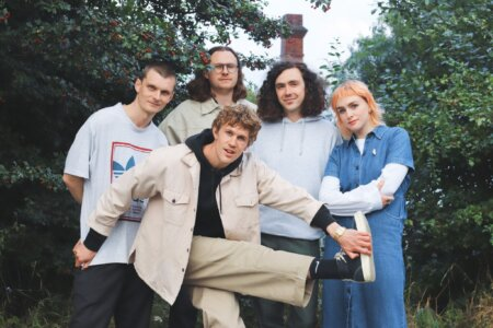 """W.H. Lung have shared their new single """"Figure With Flowers."""" The track is off the UK band's forthcoming release Vanities, available 10/8"""