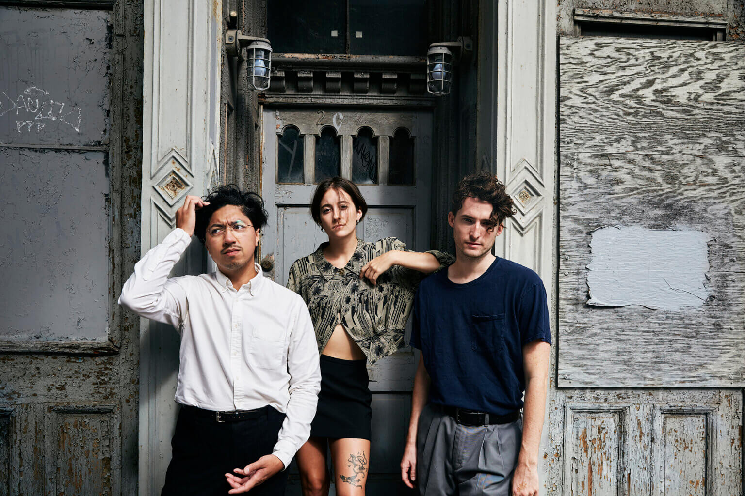 """Nation of Language have shared """"A Word & A Wave."""" The track is featured on the band's forthcoming LP, A Way Forward, due out November 5, 2021"""