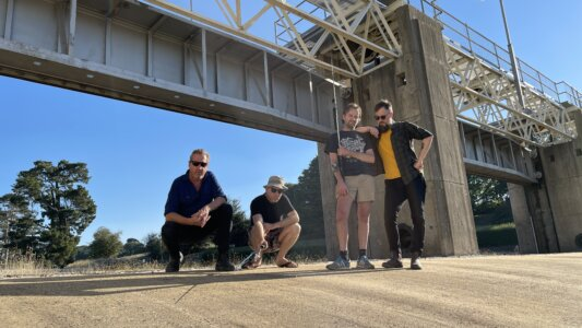 """Power Supply have shared a new video for their single """"Let's Do This and Let's Do That."""" off their LP In the Time of the Sabre Tooth Tiger"""