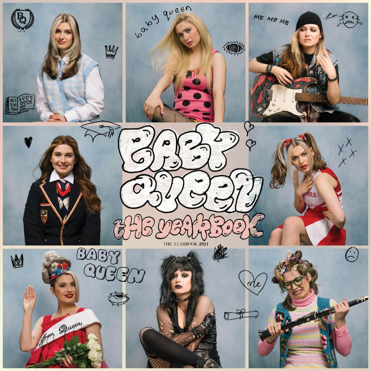 Baby Queen has released her debut mixtape The Yearbook