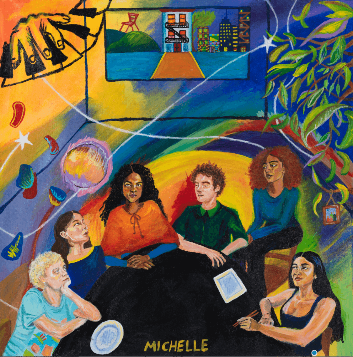 Michelle, have announced their new album AFTER DINNER WE TALK DREAMS, will drop on January 28th, 2022 via Canvasback Music and Transgressive