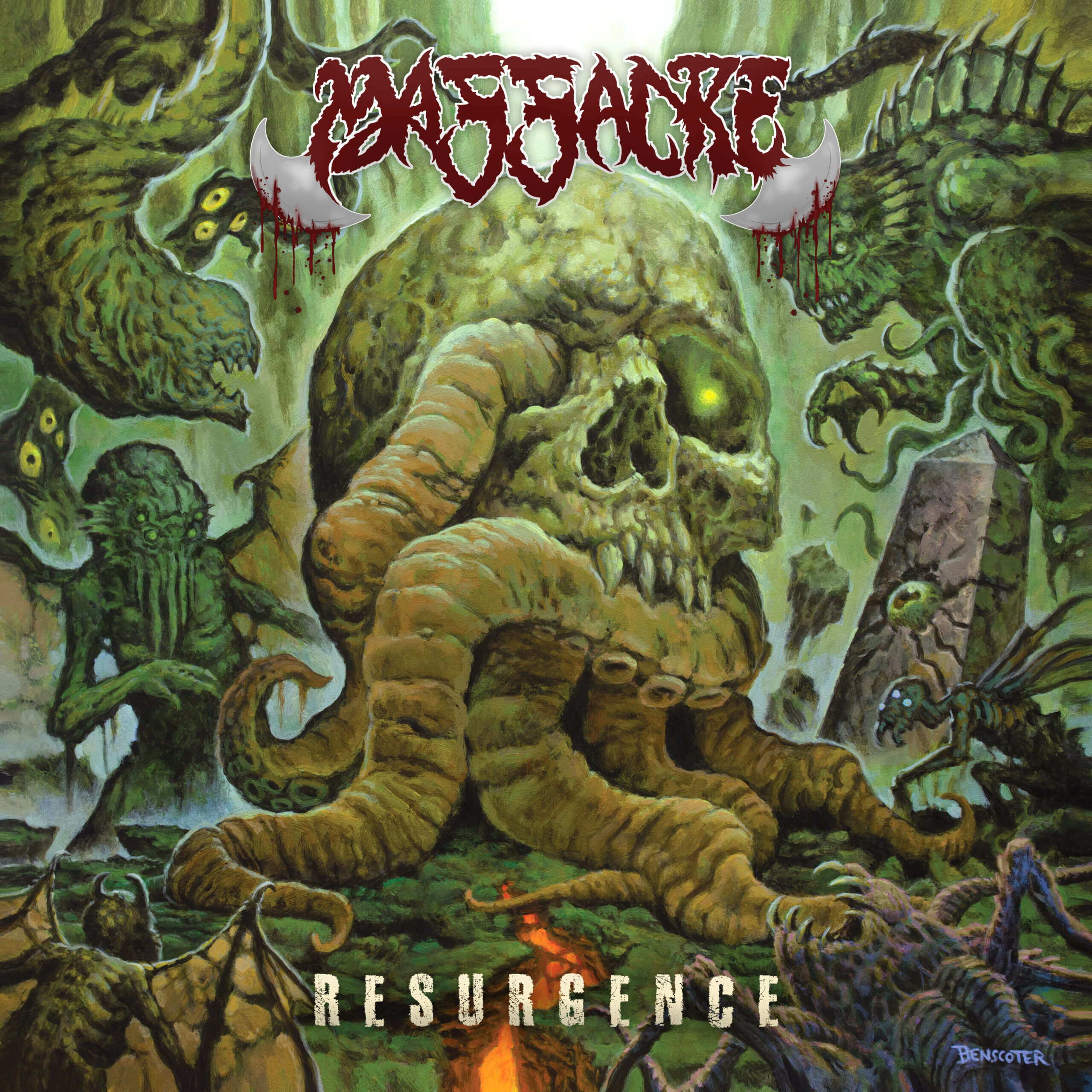 Resurgence by Massacre album review by Jahmeel Russell for Northern Transmissions