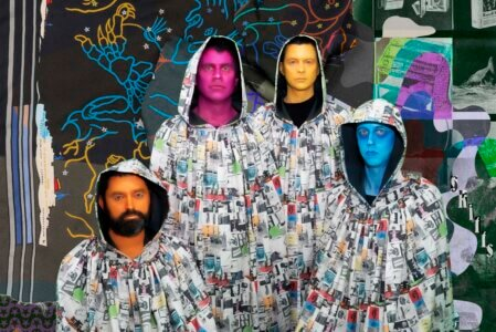 """Animal Collective due out February 4 on Domino. Time Skiffs is the band's full-length follow-up to 2016's Painting With and features nine new tracks, recorded by Avey Tare, Deakin, Geologist, and Panda Bear across the course of 2020 and mixed by Marta Salogni. Today they share the record's first single """"Prester John,"""" a track created by weaving together two songs, one written by Avey Tare and one by Panda Bear. """"Prester John"""" comes alongside a video directed by Jason Lester"""