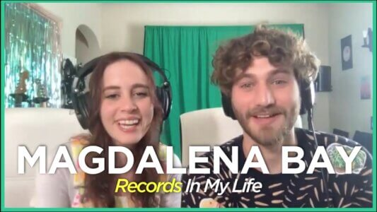 Magdalena Bay Guest On Records In My Life, the duo comprised of Mica Tenenbaum and Matthew Lewin talked about their favourite records