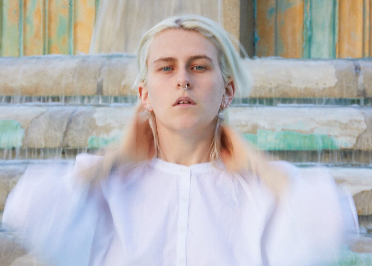"""Lala Lala Shares New Single """"Utopia Planet."""" The song is now available via Hardly Art. Lala Lala begins her tour on October 8, in Chicago"""