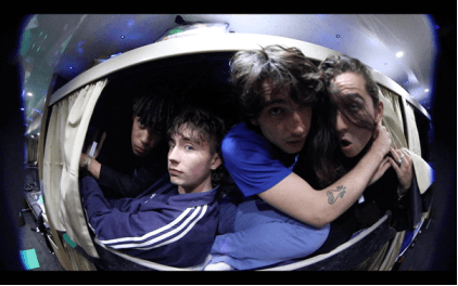 """Inhaler have released a new video for their new single """"My Honest Face."""" The video was shot by Lewis Evans and Ewan Ogden"""