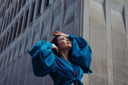 """Mitski is back with new single/video """"Working for the Knife."""" The track features the production by longtime collaborator Patrick Hyland"""