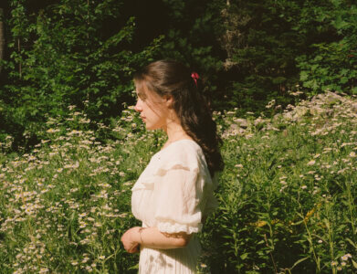 """""""Adrienne"""" by Gemma Laurence is Northern Transmissions Song of the Day. The NYC singer/songwriter's track drops on October 15th"""