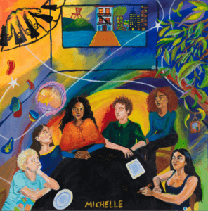 """MICHELLE has shared a new song and video, for their new single """"Mess U Made."""" The track, featuring harmonies from Michelle's four vocalists"""